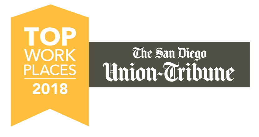 San Diego Union Tribune Top Workplaces 2018