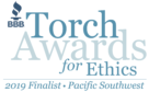 BBB Torch Awards for Ethics 2019 Finalist