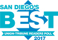 San Diego Union Tribune Reader's Poll 2017 BEST