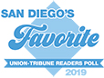San Diego Union Tribune Reader's Poll 2019 FAVORITE