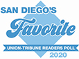 San Diego Union Tribune Reader's Poll 2018 BEST